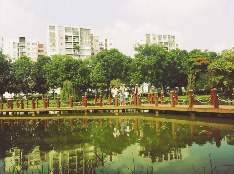công viên cây xanh đẹp nhất TPHCM