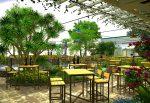 Thiết kế nhà hàng sân vườn ấn tượng thu hút khách hàng