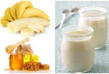 Mách bạn mặt nạ trị nám từ chuối và sữa chua mật ong